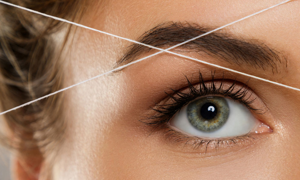 Eyebrow Threading Cecily Day Spa Berkhamstead Image