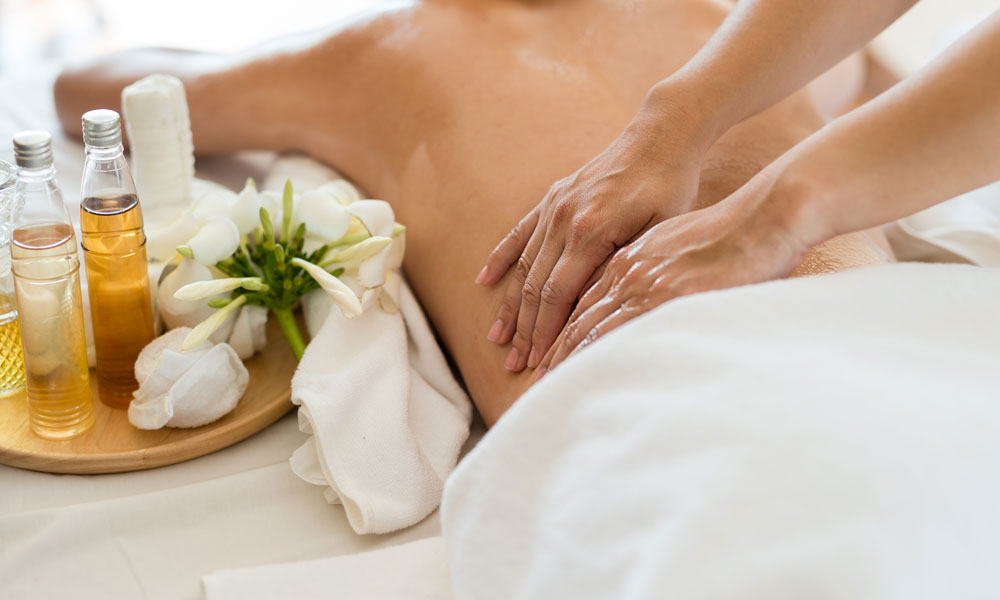 Massage Techniques for Stress Relief blog image