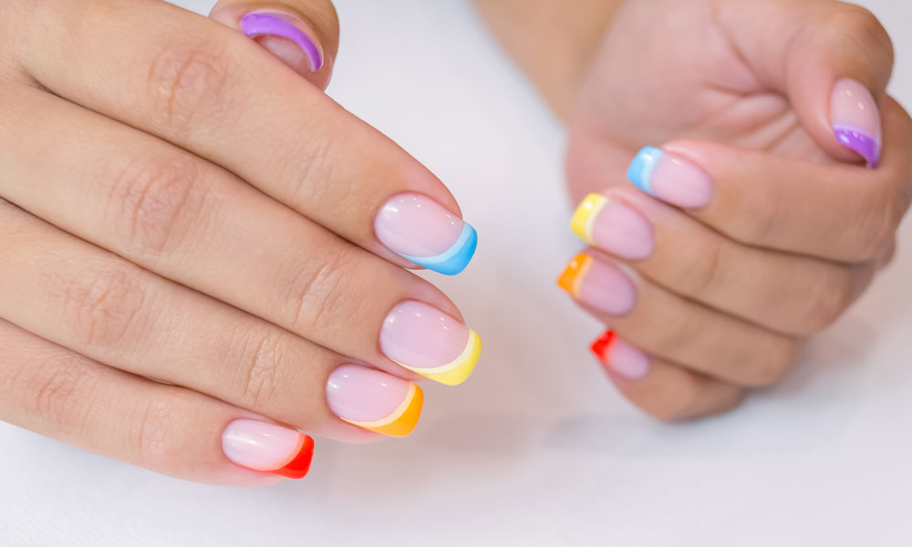 Manicures What is a Coloured French Manicure Blog Image